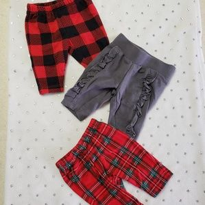 3pc Christmas pant set